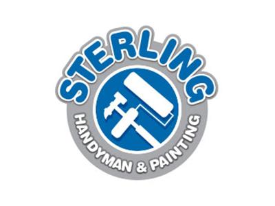 Sterling Handyman Services Logo graphic design branding logo design logo mark