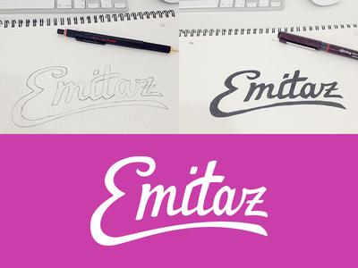 Emitaz Logo logo lettering emitaz branding logotype identity