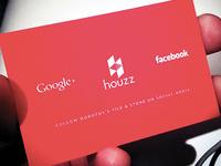 Dorothy's Tile & Stone • Business Card Reverse