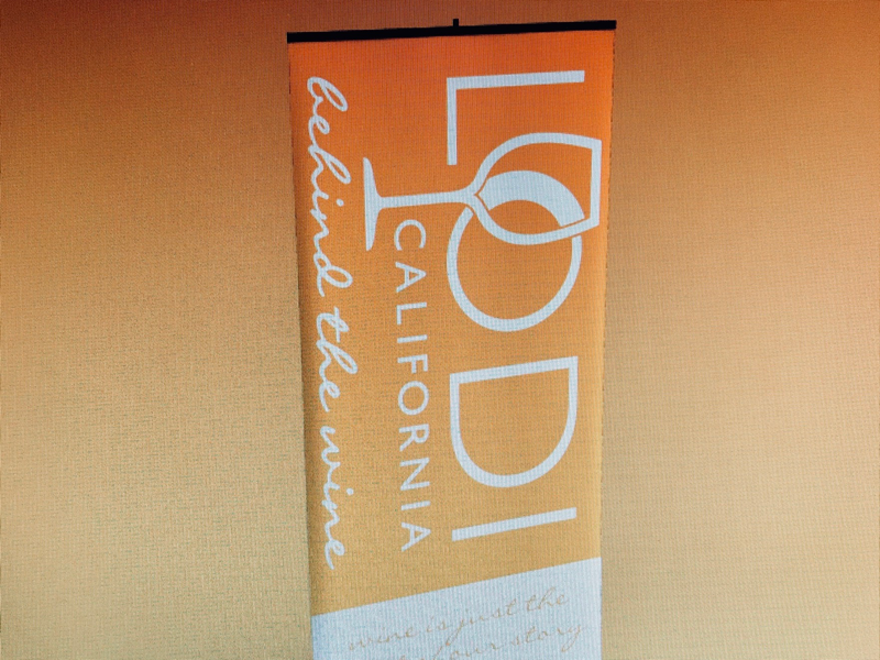 City of Lodi Trade Show Banner Redesign (WIP) graphic design branding vinyl print banner trade show