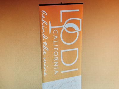 City of Lodi Trade Show Banner Redesign (WIP) graphic design branding vinyl print banner trade show