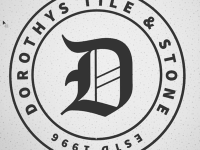 Dorothy's Tile & Stone Alternate Brand Badge Concept