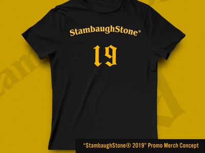 StambaughStone®️ 2019 Tee Concept bundesliga business sport t-shirts merch