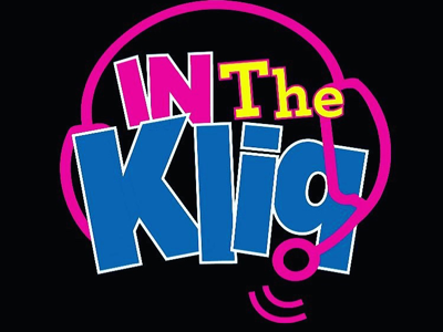 """In the Kliq"" Poscast Logo branding podcast logo"