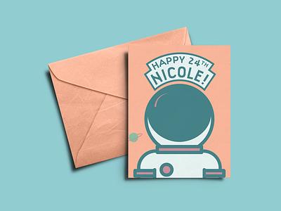 Birthday Card print branding