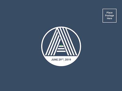 Save the Date Mailer (WIP) insignias logo creative adobe illustrator branding prints postcards weddings