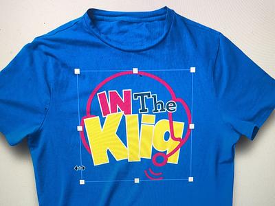 In The Kliq Podcast Wrestlemania Tee's logo design logo entertainment podcasts wrestlemania wwe branding shirt design