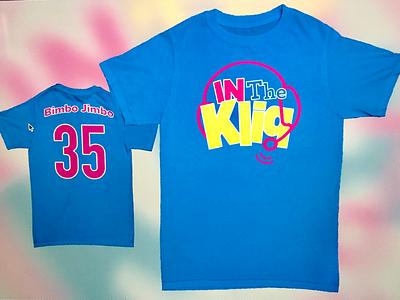 In the Kliq Wrestlemania Press Day Shirt (Final) branding podcast logo design shirt design