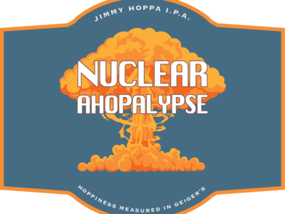 Nuclear Ahopalypse Label (WIP)