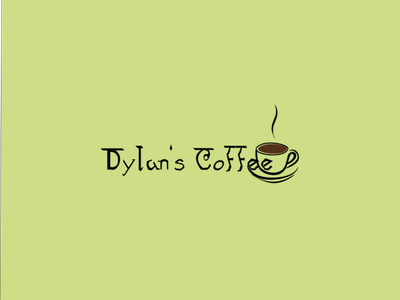 Dylan's Coffee branding design logo