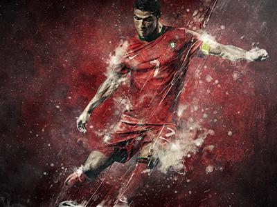 Cristiano Ronaldo By Studioluko On Dribbble