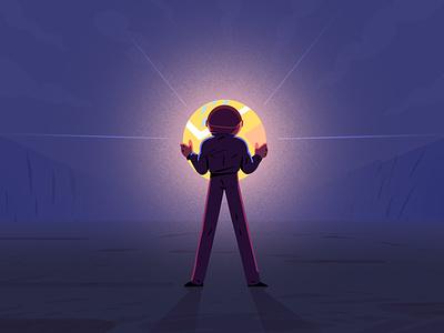 alone man 2D illustration 🔥 - Part 2 design character animate cute 2d ui design illustrator illustration