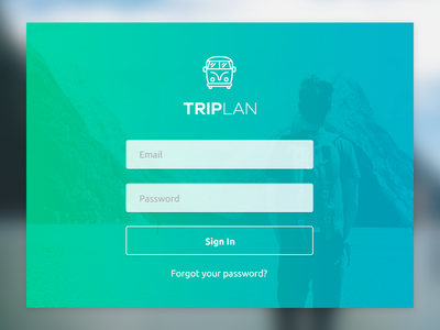 Daily Ui - Sign In