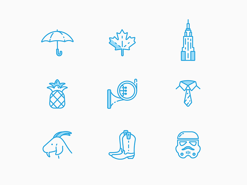 Fans will get it  vector illustration ui flat design tv how i met your mother icon