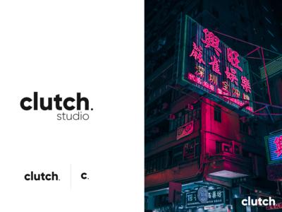 Clutch Studio Logo design logo