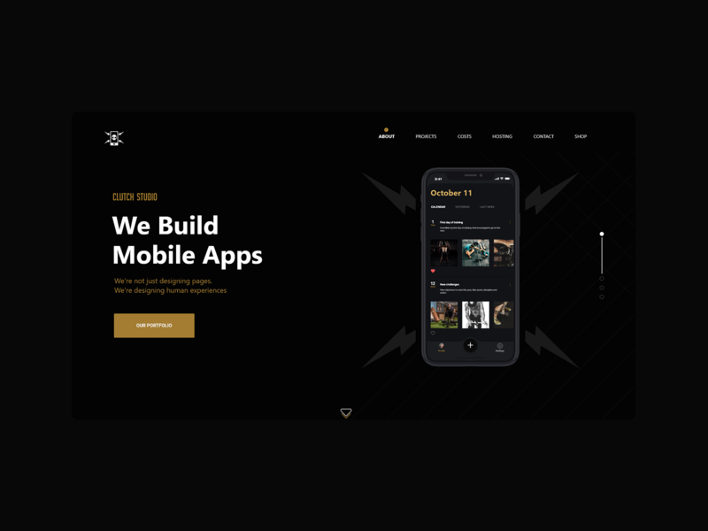 Cluth Website  #darkmode product design dark mode webdesign website