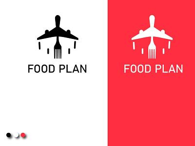 Food Plan design illustration logo graphic design