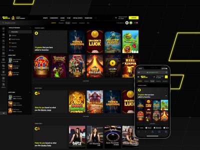 Parimatch: Casino For You ui ux pm parimatchcasino 1xstavka 1xbet slots parimatch livecasino for you recommendation betting gambling betslips jackpots