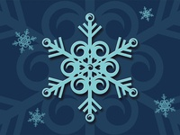 Surf snowflake