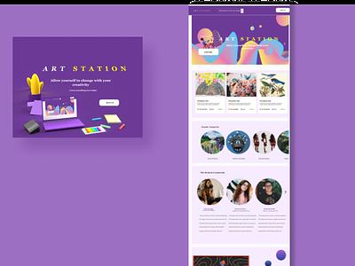 Daily UI 003: Landing page ux ui design dailyui