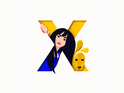 X homepage not welcome angry hospitality 36daysoftype colorful design dribbble illustration
