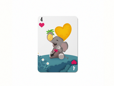 4 pineapplle tragedy elephant colorful design dribbble 36daysoftype im designs illustration