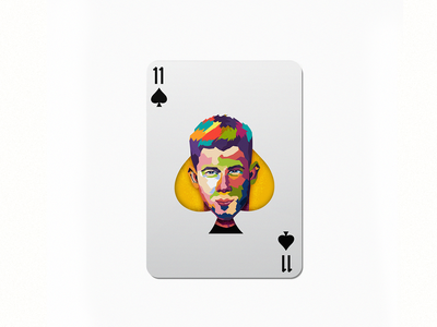 11 nick jonas playing cards spade design studio colorful design dribbble im designs illustration