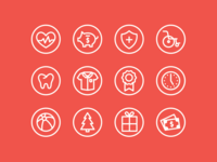 Employee Benefit Icons