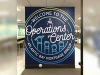 Operations Center Wall Decal