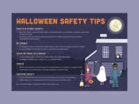 Halloween Safety Tips Postcard