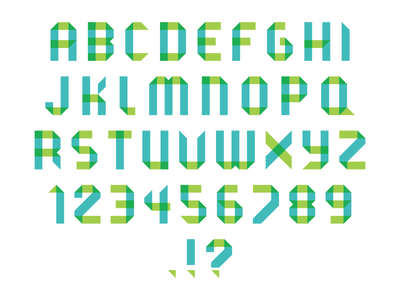 Overprint Type type font print letters typography display
