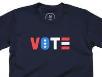 VOTE LOUDER!