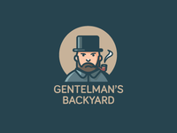 Gentelman's backyard logo sketch2