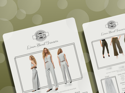 Model Brand Brochure branding graphic design