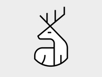 Deer Icon for #ValdiSole