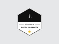 Statusbrew Agency Partner Badge