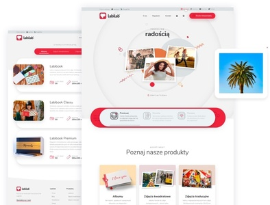 Labilab ui ux animation android ios webdesign website landing ecommerce app ecommerce photos album