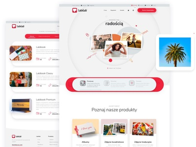 Labilab ui ux animation android ios webdesign website landing ecommerce app ecommerce photos album