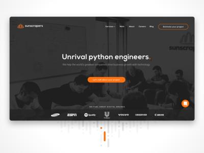 Unrival python engineers