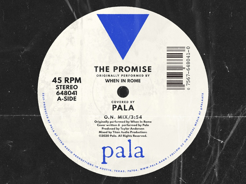 """The Promise"" Cover Cover Art for Pala"