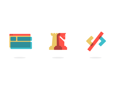 New Praxent Icons 💅 dev chess iconography icons