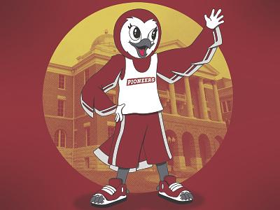 Owl mascot illustration mascot owl