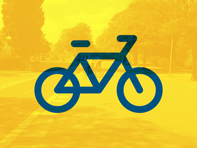 Bike line style bike free webfont stuff iconography licons icons