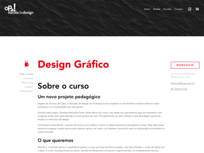 Opa – Course Page