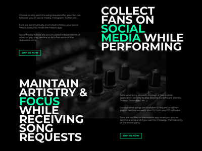 spINFLUENCEit dj design brand interface ui