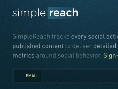 Simplereach beta