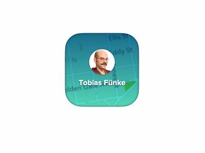 Tobias Fünke (Squircle) arrested development squircle ios7 tobias whatever