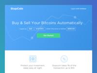 Stopcoin Homepage