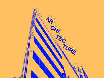 Architecture Brochure 1 brochure poster building bauhaus architecture design illustration graphic design