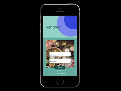 Food Delivery (Randhoni) soft pastel startingnew quickdesign assamese app rubik fooddelivery design ui